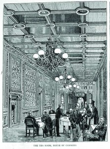 The House of Commons Tea Room
