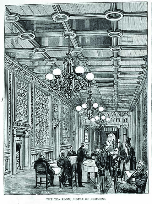 1880 House of Commons Tea Room