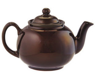 Image of a Brown Betty tea pot
