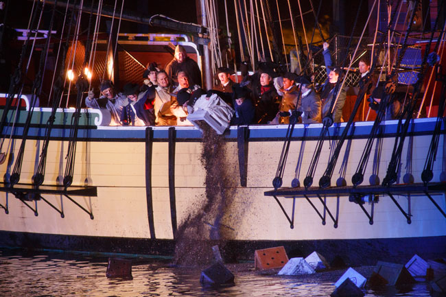 Boston Tea Party Ships December 16 Reenactment
