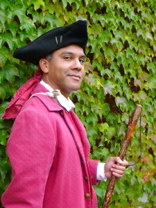 Freedom Trail African-American Patriots Tour 18th century Costumed Guide