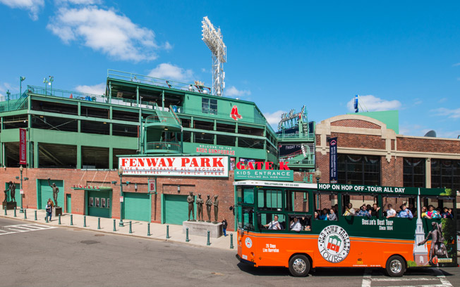 Boston Fenway Park Trolley Tours