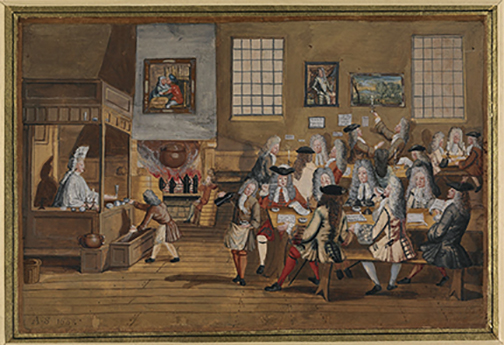 coffeehouse london 1770