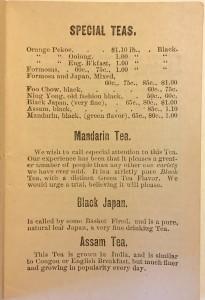 Great London Tea Co Boston tea prices