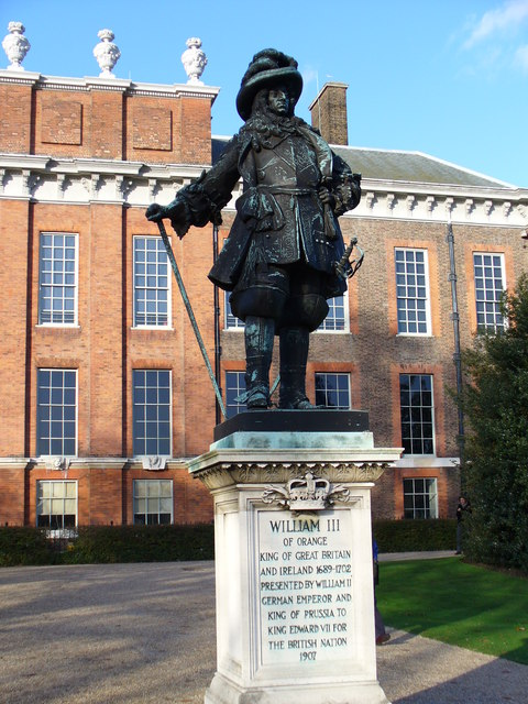 William III statue in Kensington Palace