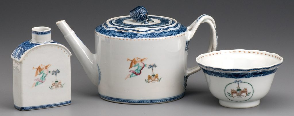 G Washington tea set mt vernon