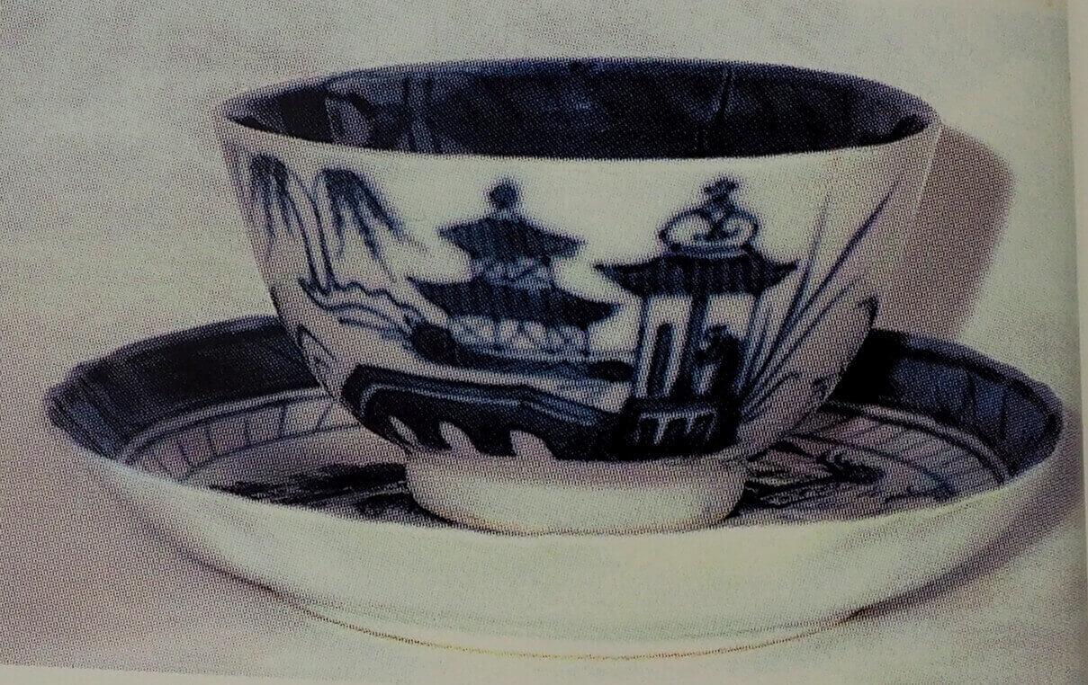 Abigail Adams' Chinese teacup