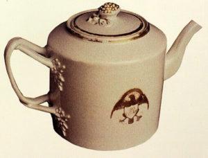 President John Adams teapot, Chinese