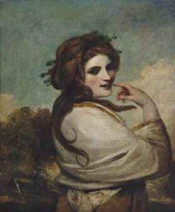 Portrait of Emma Hamilton (1765-1815), as a Bacchante by Joshua Reynolds