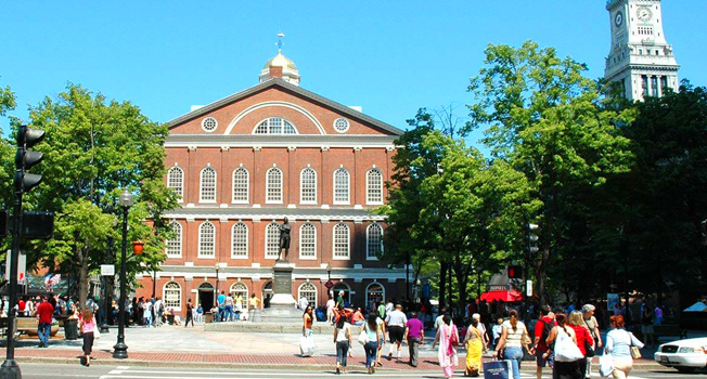 Faneuil Hall Bosotn