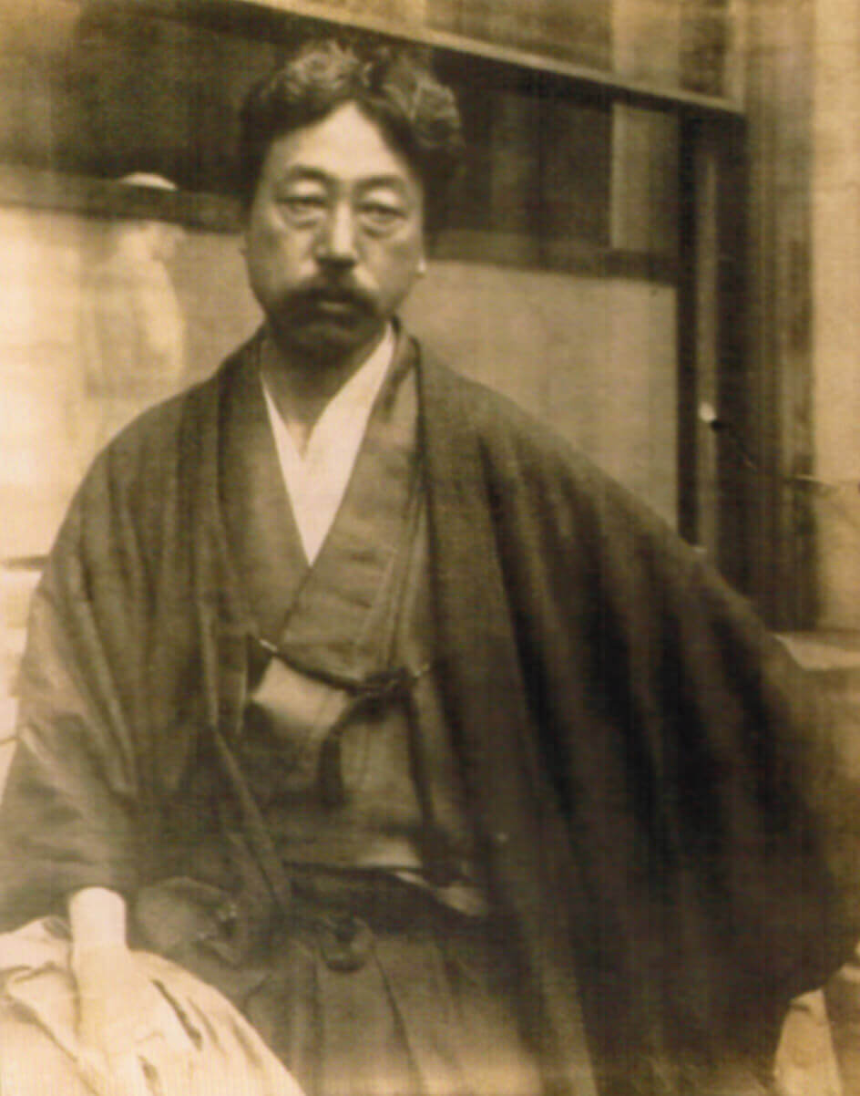 Okakura Kakuzo in Japan