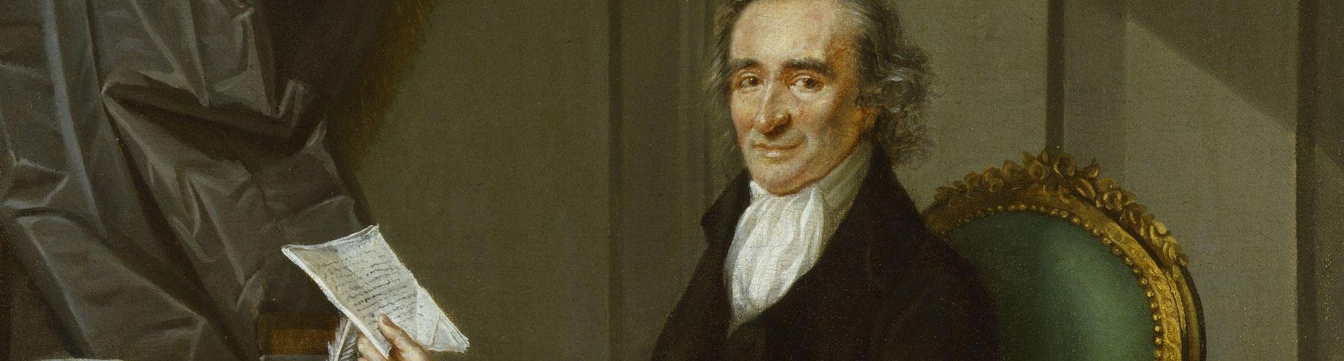 Thomas Paine portrait painting