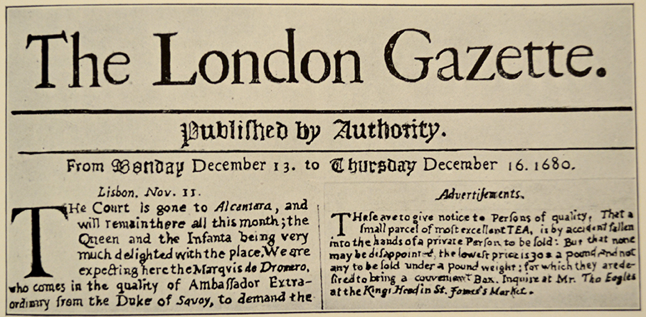 1680 London Gazette