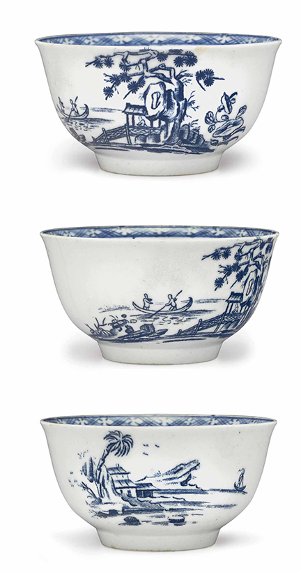 Bartlam tea bowls