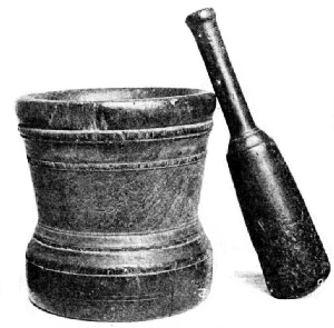 Mortar for Grinding Coffee