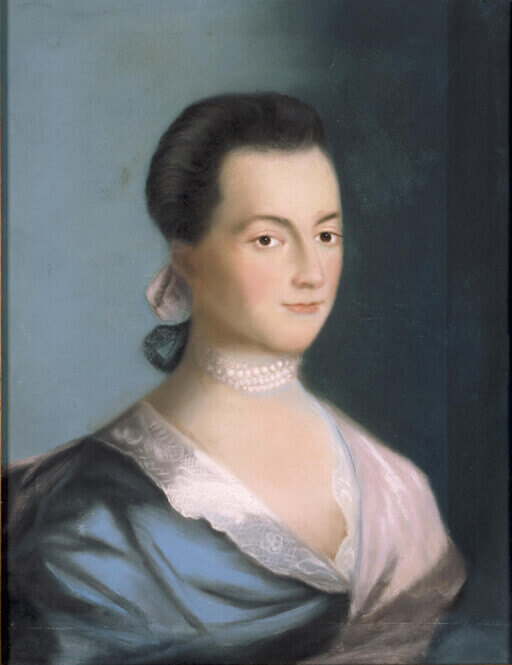 Abigail Adams, Benjamin Blythe, 1766. Massachusetts Historical Society