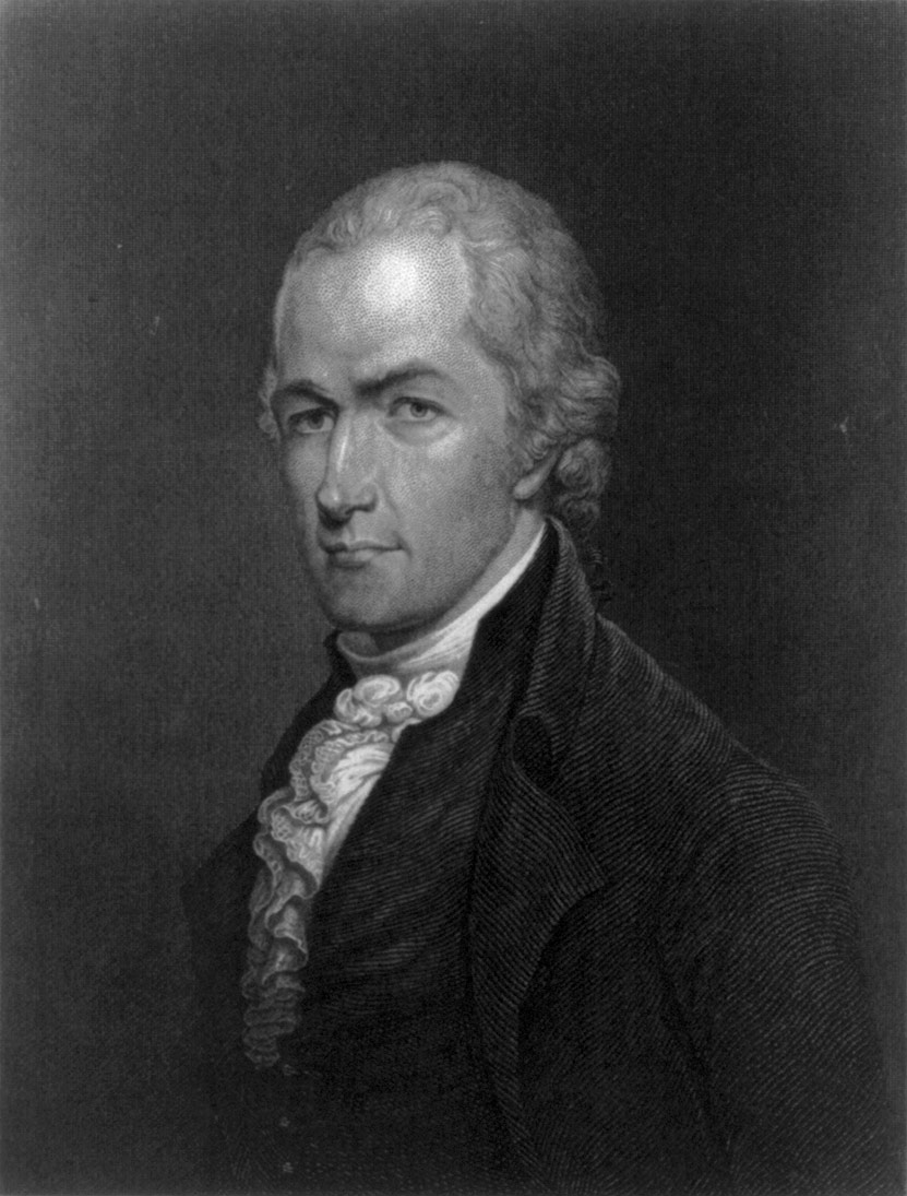 Alexander Hamilton, 1805. Washington University Law School.