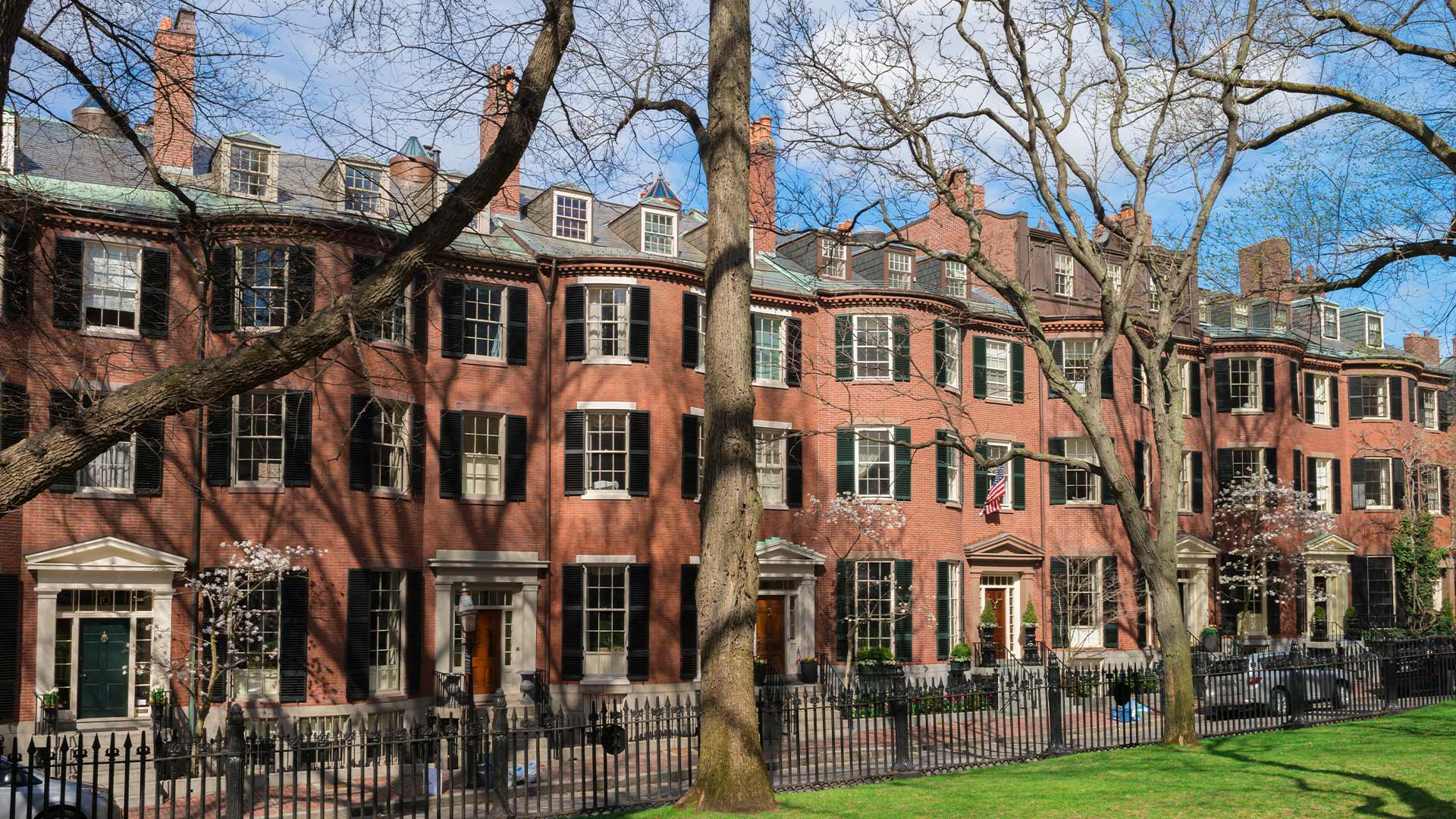 Residences in Beacon Hill, Boston