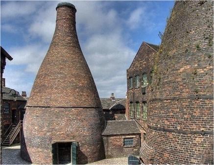 Bottle Kiln in Staffordshire
