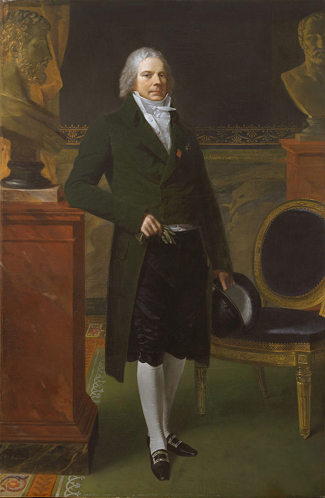 Charles Maurice de Talleyrand Perigord, Pierre Paul Prud'hon, 1817. The Metropolitan Museum of Art.