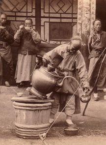 chinese tea pourer