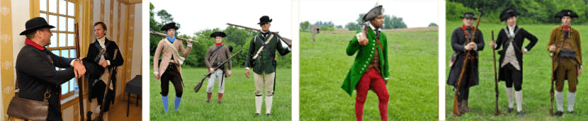 clothing of the american revolution