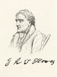 Sketch of George R T Hewes