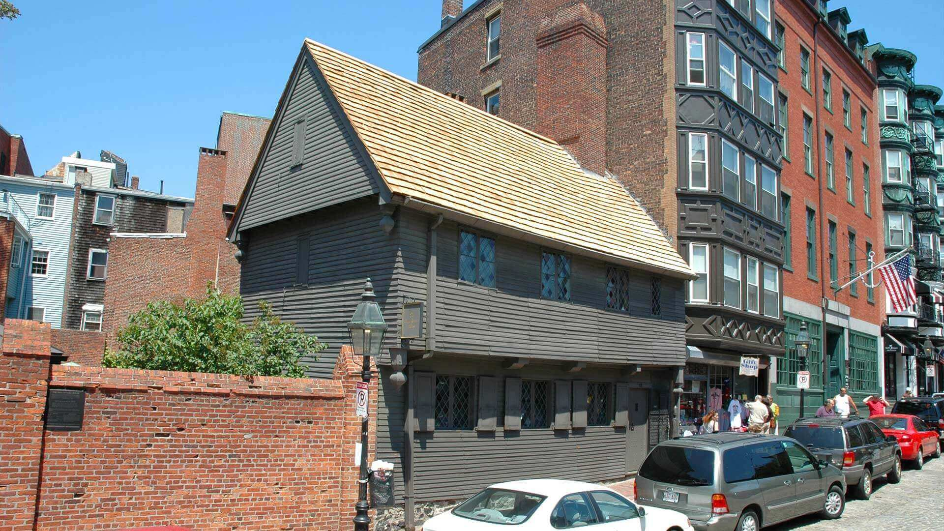 Paul Revere's house in Boston
