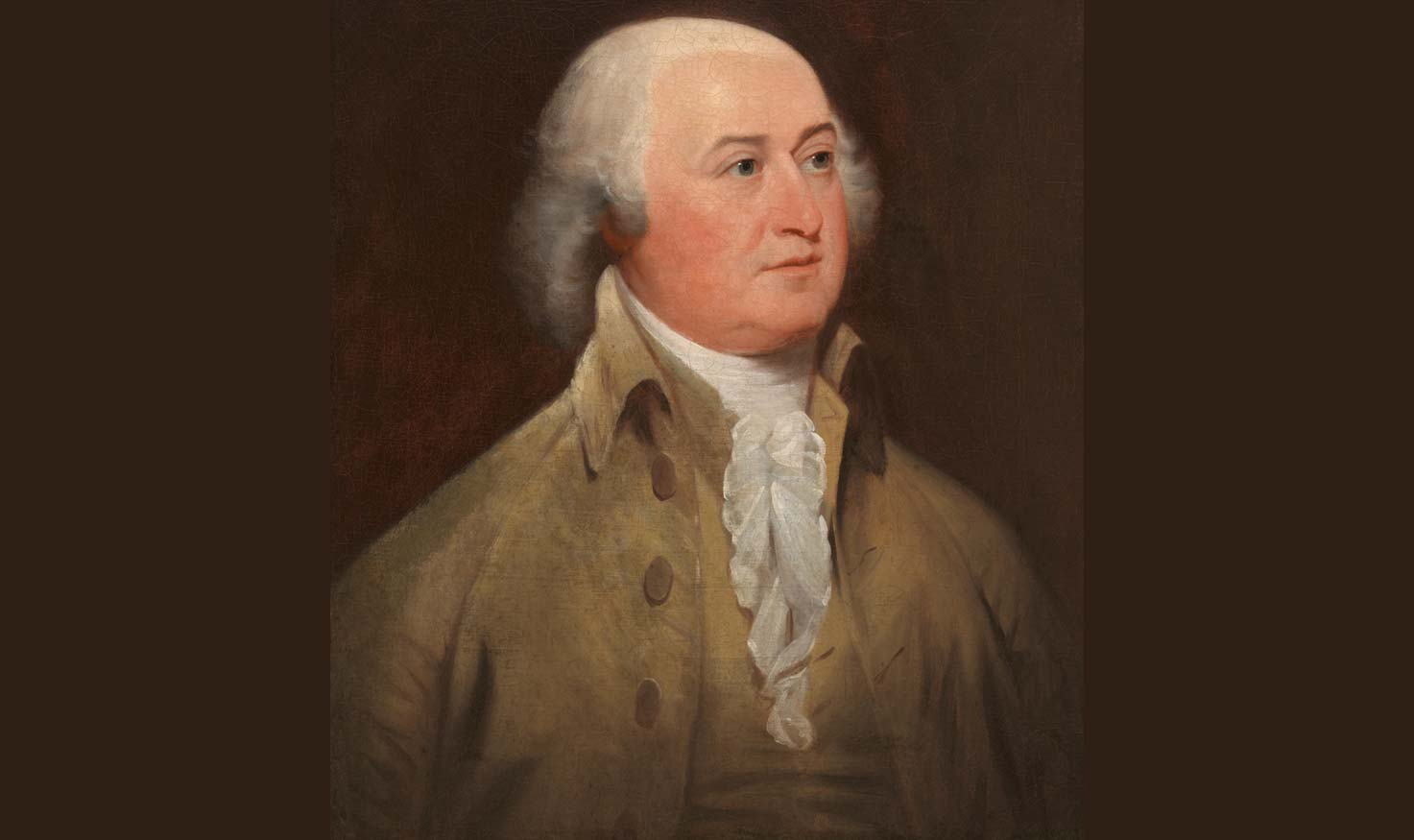 Portrait of John Adams facing right