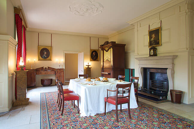Kew dining room in England