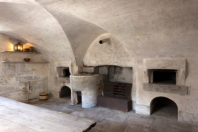 Traditional 18th century ovens