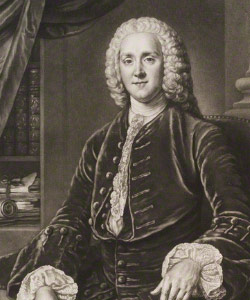 Portrait of George Grenville