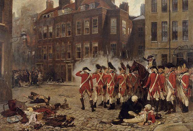 Portrait of the Gordon Riots