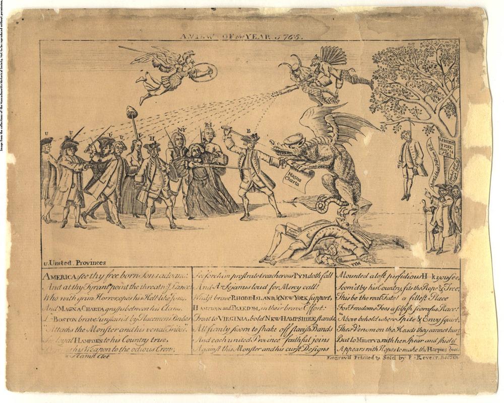 Paul Revere's Stamp