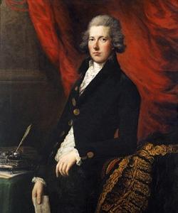 Portrait of William Pitt