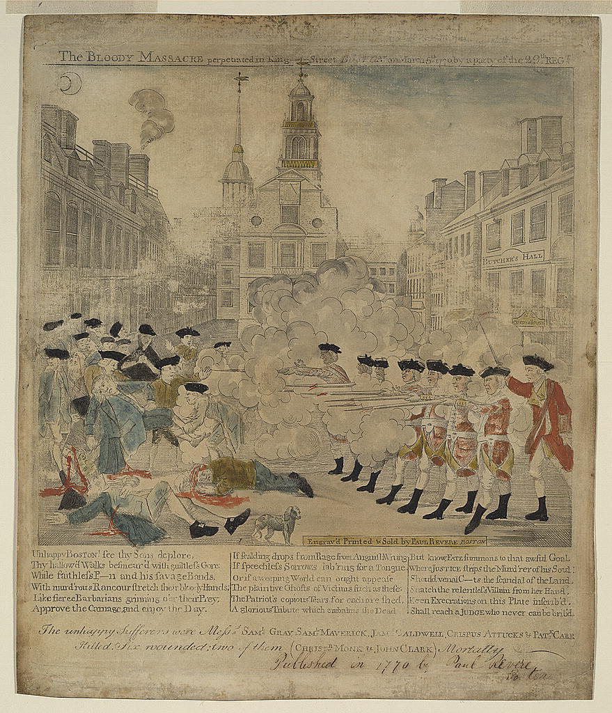 Paul Revere's Boston Massacre