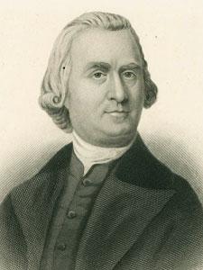 Engraving of Sam Adams Jackson