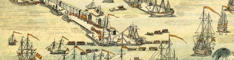 Sketch of the Boston Harbor