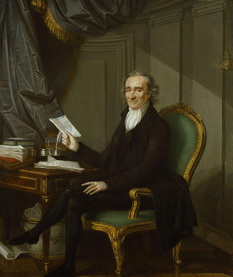 Portrait of Thomas Paine, 1791