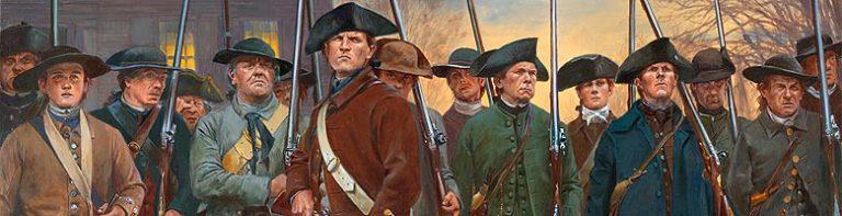 Portrait of Soldiers at Lexington