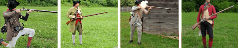 Trousers worn during the American Revolution