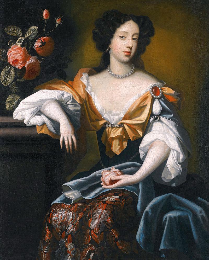 Portrait of Mary of Modena Pietersz