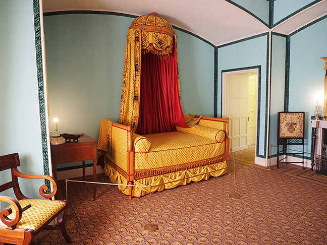 Queen Charlotte's Boudoir at Kew Palace