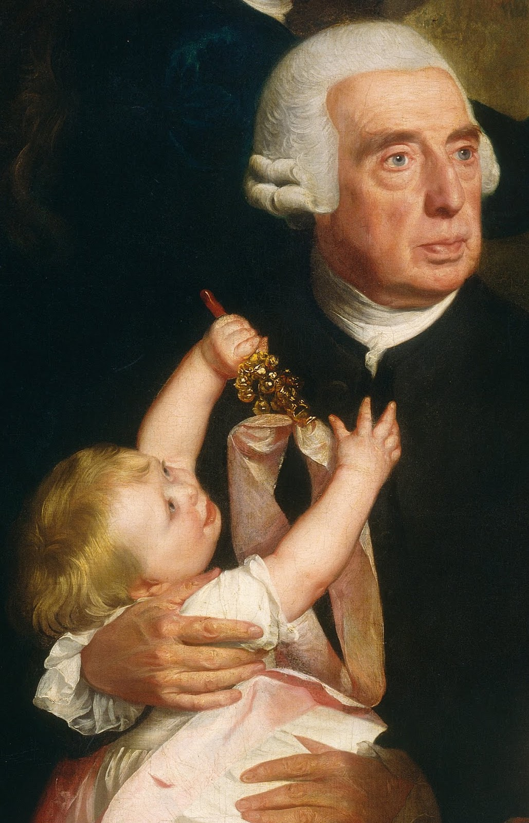 Portrait of Richard Clarke and his Grandson