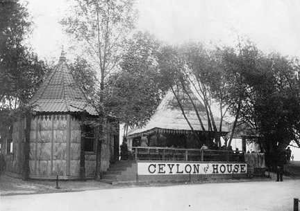 Ceylon Tea House Worlds Fair 1893