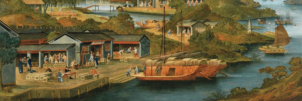 China tea trade