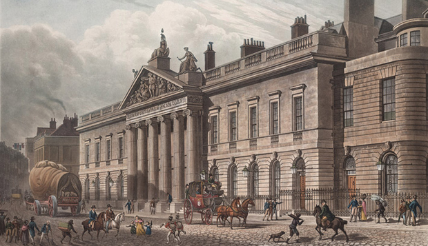 East India house in England