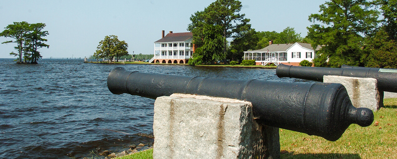Edenton Tea party canons