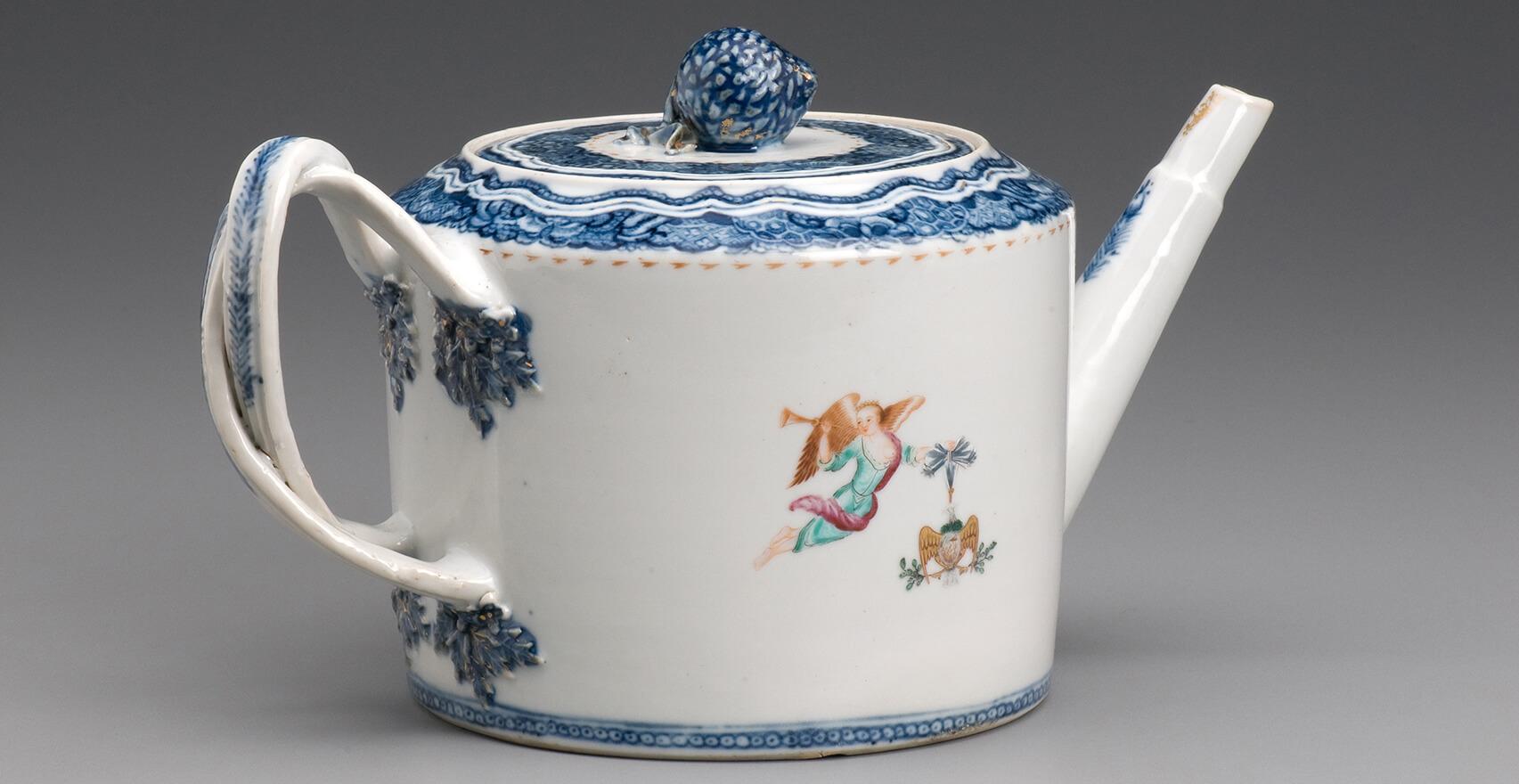 Washington tea pot from Mt Vernon