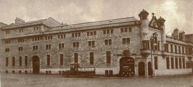 Andrew Melrose Company building in Edinburgh